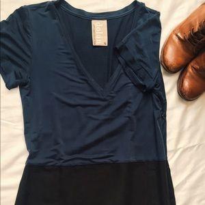 Anthropologie Soft V-neck Dress